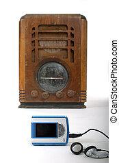 선수, mp3, 새로운, 늙은, 라디오, 1