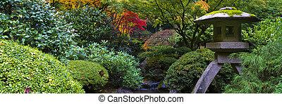 성골함, 일본 정원
