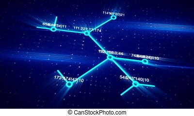 성장하는, 개념, 컴퓨터 애니메이션, 네트워크