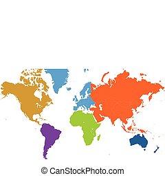 세계 지도