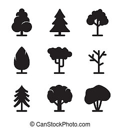 세트, 나무, 아이콘