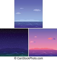 세트, 바다
