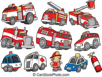 세트, 수송, 구출 차량