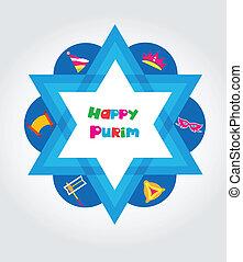 세트, 유태인, purim, 성분, 디자인, 휴일