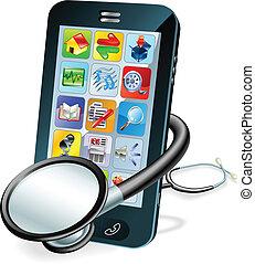 셀룰라 전화, 개념, 건강 수표
