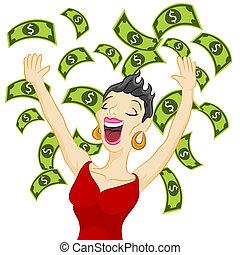 소녀, 현금