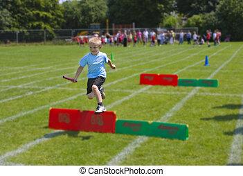 소년 달리기
