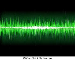 소리, 전류를 고주파로 변환시키는, light., eps, 파도, 8, 백열