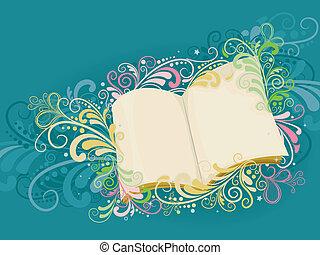 소용돌이, 책, 열려라