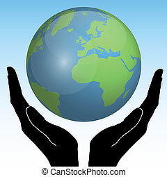 손, 지구