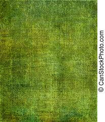 스크린, 녹색의 배경