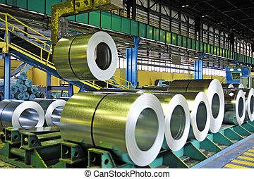 시트, rolls, 강철