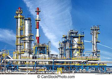 식물, 석유 화학 제품