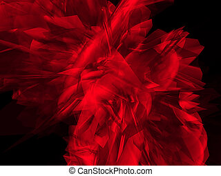 신비적인, 빨강, 모양