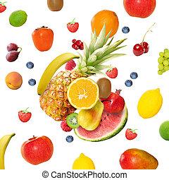신선한, 여러 가지이다, 과일