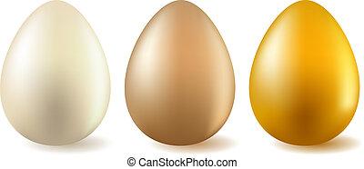 실감나는, 3, 달걀