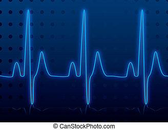 심장의 고동, 백열