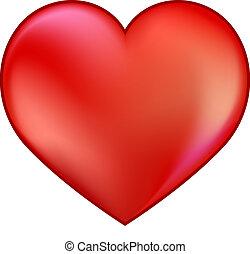 심장, 빨강