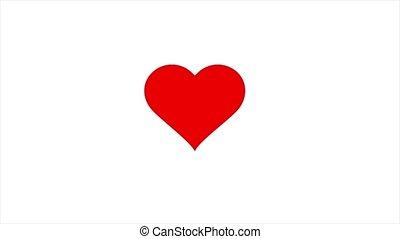 심장, 생기, 날개치기, 빨강