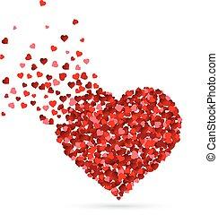 심혼 모양, 뿌림, 심혼