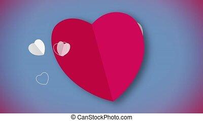 심혼 모양, 생기, 레드 카드