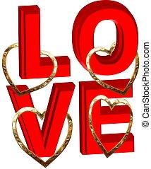 심혼, 사랑, 금