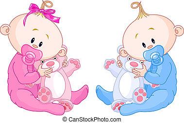 아기, 쌍둥이
