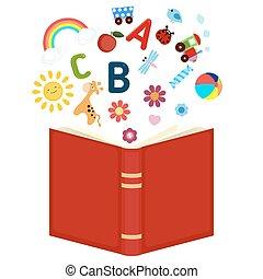 아동 도서, 열려라, 아이콘