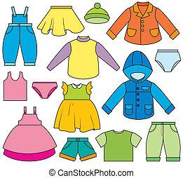 아이들의 옷