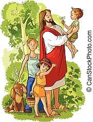 아이들, 예수