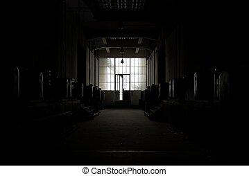 암흑, 장소, 자포자기한