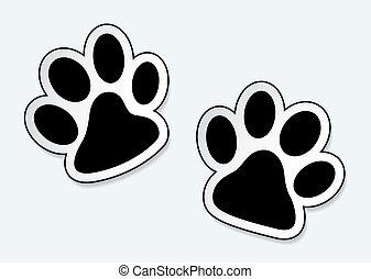 애완 동물, 은 인쇄한다, 발