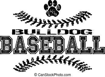 야구, 불독, 디자인