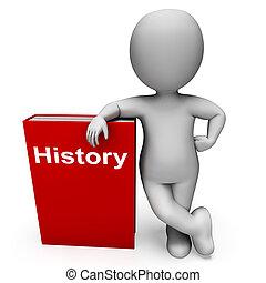 약, 성격, 과거, 책, 쇼, 책, 역사