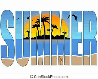 여름, 표제