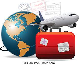 여행, 비행기