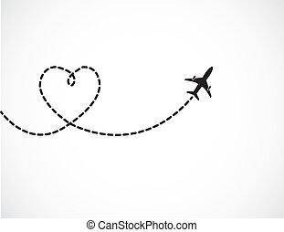 여행, 사랑, 개념
