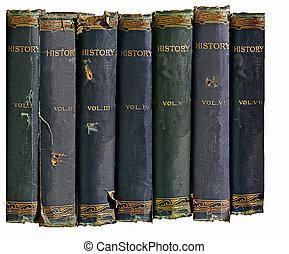 역사, 책, 늙은