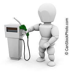 연료, 사람, 펌프