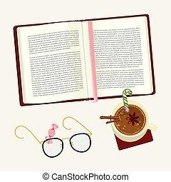 열려라, 개념, 책
