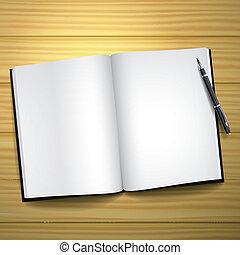 열려라, 공백의 책, 펜
