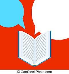 열려라, 배경, book.