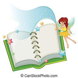 열려라, 요정, 책, 은 주연시킨다