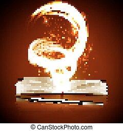 열린 책, 마술