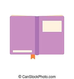 열린 책, 제왕의, 덮개