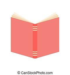 열린 책, 핑크, 덮개