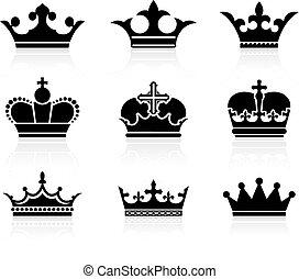 왕관, 디자인, 수집