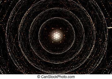 우주, 은하, 나선