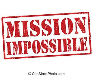 우표, 불가능한, 임무