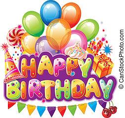 원본, 생일 축하합니다, 파티, 요소